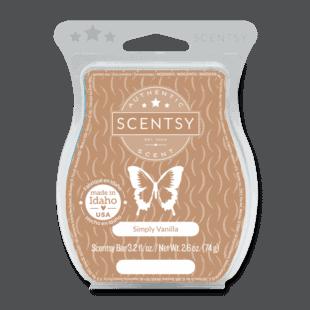Simply Vanilla Scentsy Bar