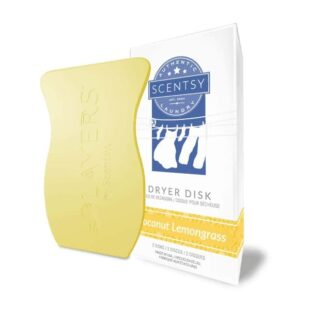 Scentsy Coconut Lemongrass Dryer Disks