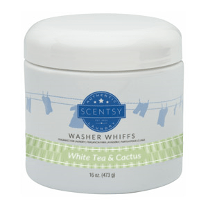 Scentsy Washer Whiffs - White Tea and Cactus