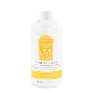 Coconut Lemongrass Counter Clean