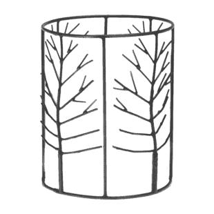 Scentsy Black Elm Wrap