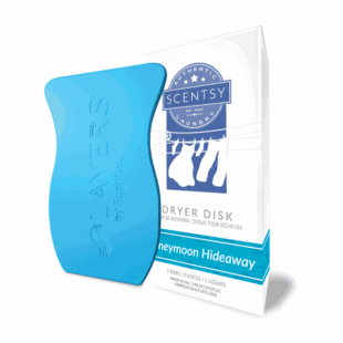 Scentsy Honeymoon Hideaway Dryer Disks