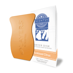 Scentsy Sunkissed Citrus Dryer Disks
