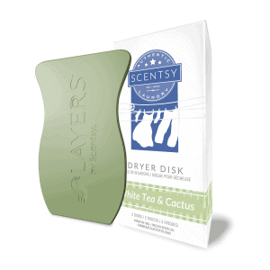 Scentsy White Tea & Cactus Dryer Disks