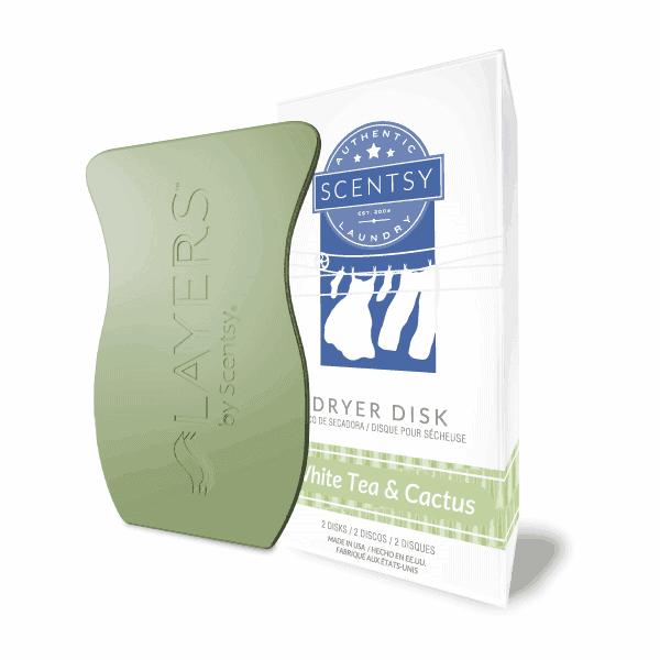 Scentsy White Tea & Cactus Dryer Disks