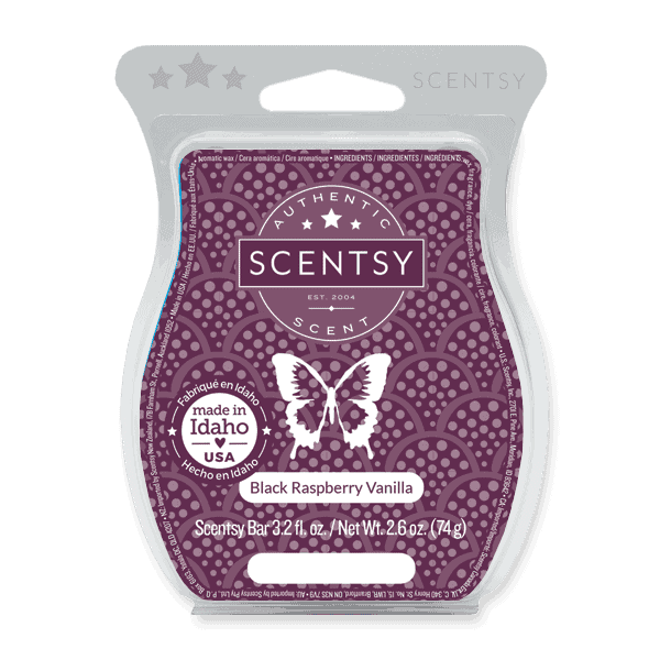 Scentsy Wax Bar - Black Raspberry Vanilla