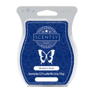 Scentsy Wax Bar - Blueberry Rush