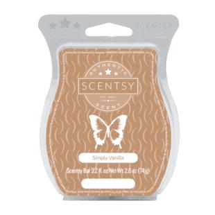 Scentsy Wax Bar - Simply Vanilla