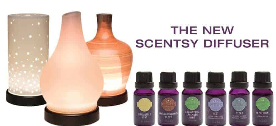 The new Scentsy Diffuser