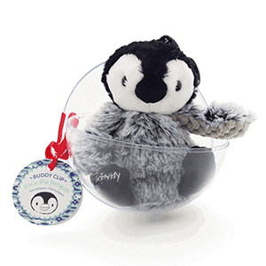 Pixie the Penguin Buddy Clip Ornament