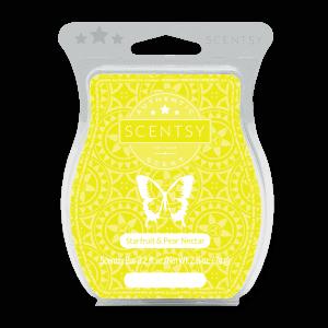 Starfruit and Pear Nectar Scentsy Bar