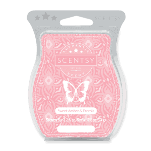Sweet Amber and Freesia Scentsy Bar