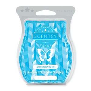 Blue Raspberry Ice Scentsy Bar