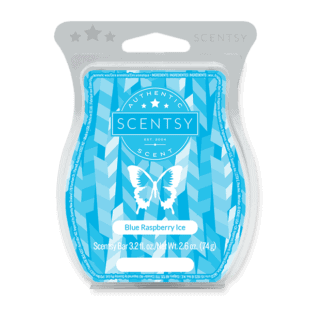 Blue Raspberry Ice Scentsy Bar
