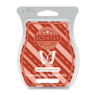 Apple & Cinnamon Sticks Scentsy Bar
