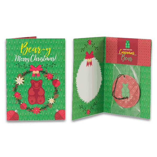 Holiday Greeting Cards - Cinnamon Bear