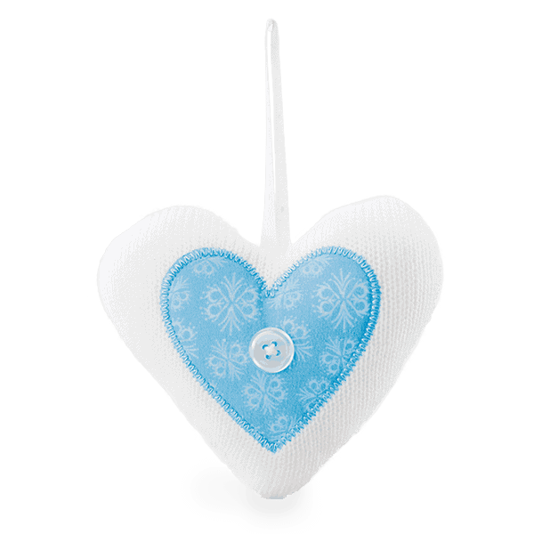 Eskimo Kiss Fabric Ornament