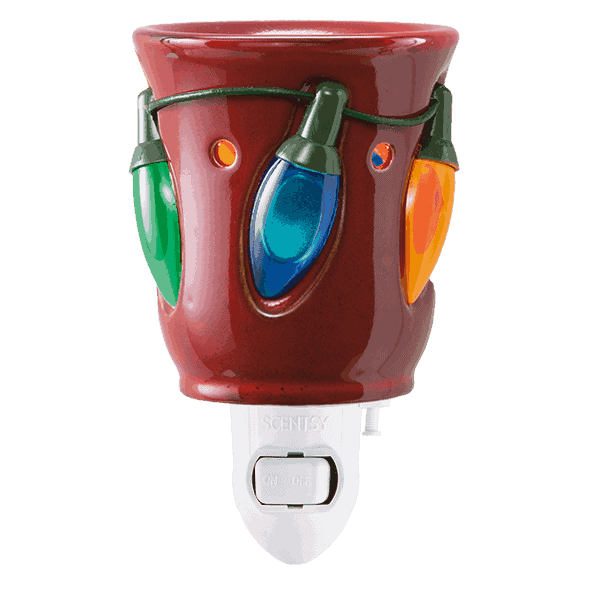 Holiday Lights Mini Scentsy Warmer
