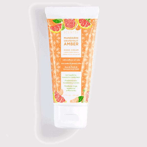 Mandarin Grapefruit Amber Hand Cream
