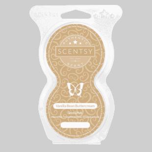 Vanilla Bean Buttercream Scentsy Pods