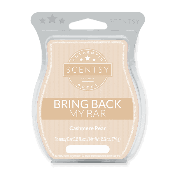 Cashmere Pear Scentsy Bar BBMB