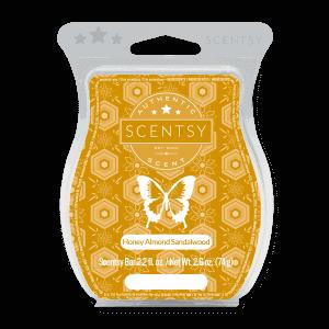 Honey Almond Sandalwood Scentsy Bar