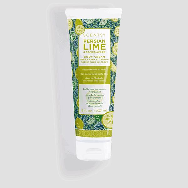 Persian Lime & Sandalwood Body Cream