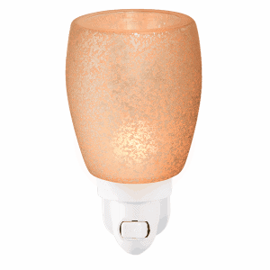 Cream Glass Mini Scentsy Warmer