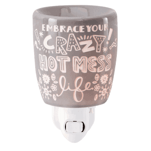 Crazy Hot Mess Mini Scentsy Warmer