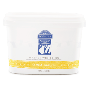 Coconut Lemongrass Washer Whiffs Tub