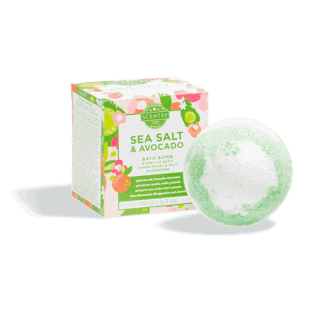 Sea Salt & Avocado Bath Bomb