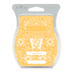 Orange Flower Scentsy Bar