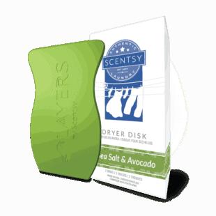 Sea Salt & Avocado Dryer Disks