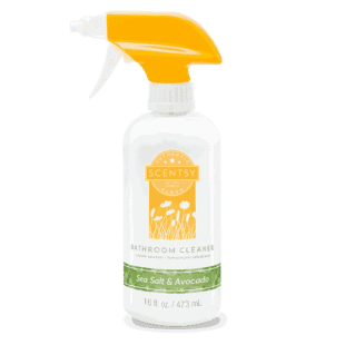 Sea Salt & Avocado Bathroom Cleaner
