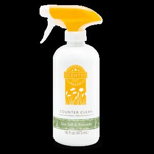 Sea Salt & Avocado Counter Clean