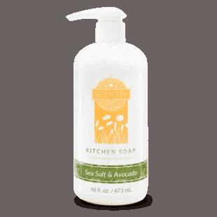 Sea Salt & Avocado Kitchen Soap