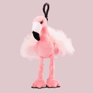 Farah the Flamingo Buddy Clip