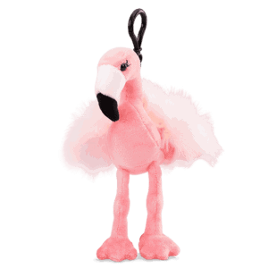 Farah the Flamingo Buddy Clip