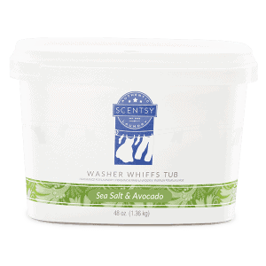 Sea Salt & Avocado Washer Whiffs Tub