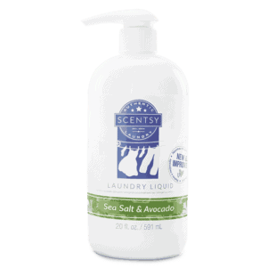 Sea Salt & Avocado Laundry Liquid