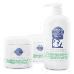 Aloe Water & Cucumber Laundry Bundle