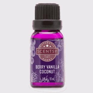 Berry Vanilla Coconut 100% Natural Oil