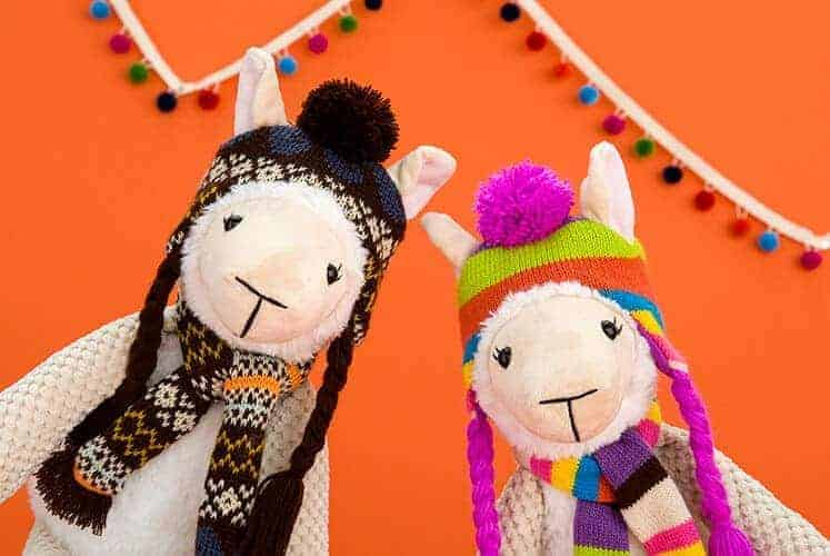 Scentsy Buddy –  Ande and Alma the Alpaca