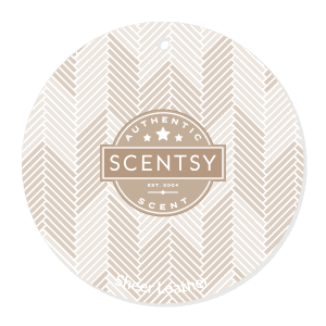 Sheer Leather Scent Circle