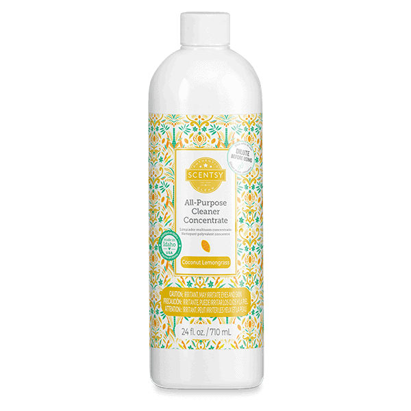 Coconut Lemongrass All Purpose Cleaner Concentrate