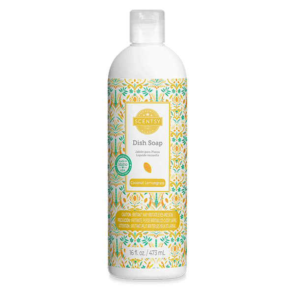 Coconut Lemongrass Dish Soap