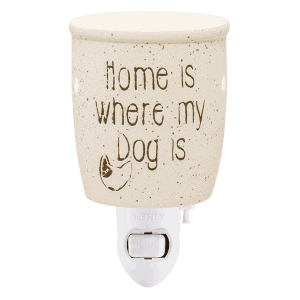 Home is where my Dog is Scentsy Mini Warmer