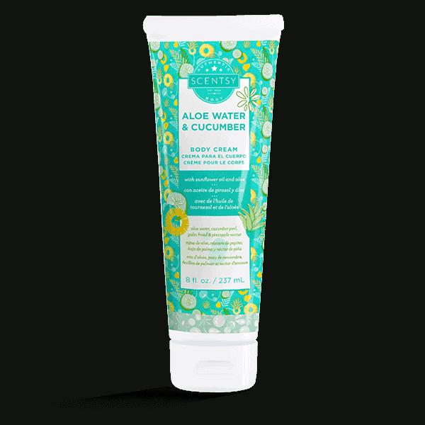 Aloe Water & Cucumber Body Cream