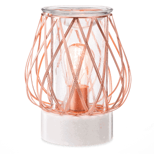 Diamond Weave - Rose Gold - Scentsy Warmer