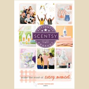 Scentsy Australia Catalogue Cover Autumn Winter 2019